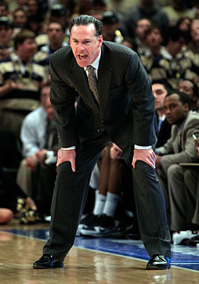 Forty-three percent of the time Jamie Dixon's team misses a shot, it gets another one. (Getty Images)