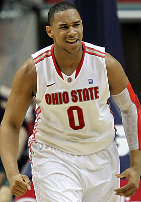 If the Buckeyes advance deep into the tournament, Jared Sullinger will be a big reason why. (Getty Images)