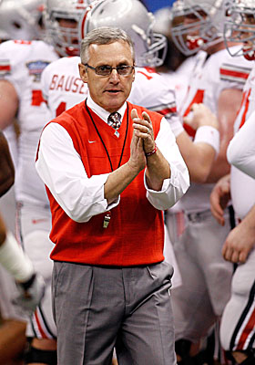 Ohio State football coach Jim Tressel knew at least two of his players were violating NCAA rules. (Getty Images)