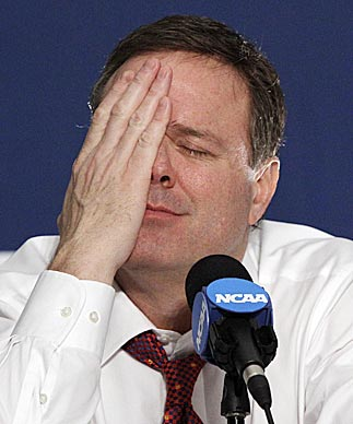 Here's some news for Bill Self and others coaching college basketball's elite: The have-nots have more headaches in store. (AP)
