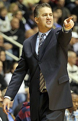Three-time Big Ten Coach of the Year Matt Painter had been one of the league's lowest-paid coaches. (Getty Images)