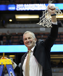 Connecticut's Jim Calhoun, 68, was 29 years old when he got his coaching start at Northeastern. (AP)