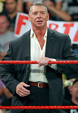 Vince McMahon wrote the book about turning the tables on critics. (Getty Images)