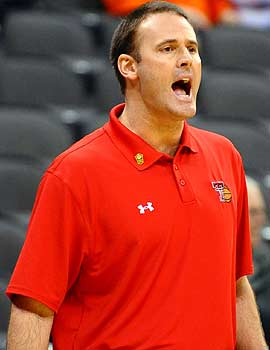 Pat Knight, son of Hall of Famer Bob Knight, gets his second coaching gig a month after being fired at Texas Tech. (US Presswire)