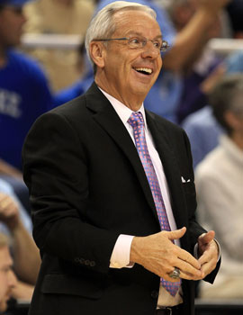 The new withdrawal date is good for Roy Williams and other coaches as they'll have more time to plan their rosters. (Getty Images)
