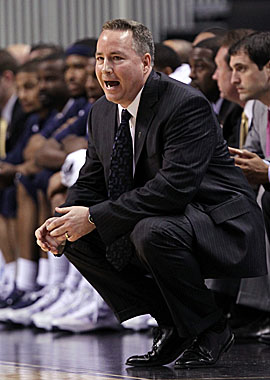New Aggies coach Billy Kennedy, 47, is a former Texas A&M assistant. He leaves Murray State after five seasons. (Getty Images)