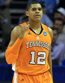 After his freshman year, Tobias Harris joins Scotty Hopson in a leap to the NBA Draft. (Getty Images)
