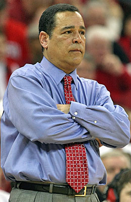 Kelvin Sampson lost his job at Indiana after violating the same rules that got him in trouble at Oklahoma. (Getty Images)