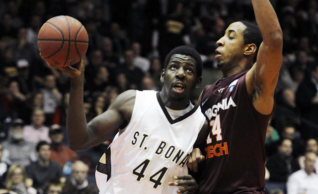 Andrew Nicholson's growth on the court has St. Bonaventure looking to contend in the A-10. (US Presswire)
