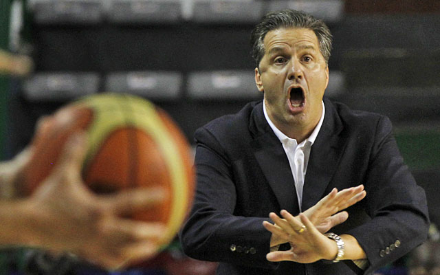 John Calipari's track record leaves little doubt that Kentucky will land at least a top-five class. (AP)