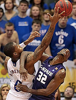 Kansas and Kansas State could help the Big East offset its basketball defections. (Getty Images)