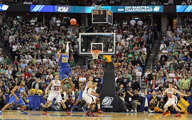 The montage of March -- the ball is up, the clock ticks down, someone has a shining moment. (Getty Images)