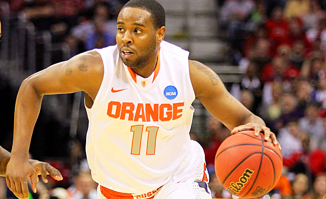Syracuse will need Scoop Jardine to take on more of a leadership role this season. (Getty Images)