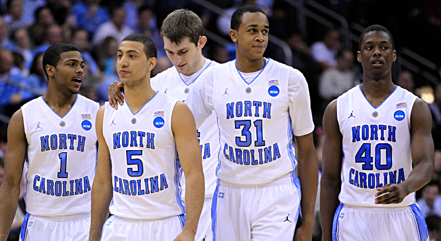 UNC's Dexter Strickland, Kendall Marshall, John Henson and Harrison Barnes all make the list. (Getty Images)