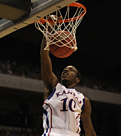 Tyshawn Taylor is one of two Jayhawks and 10 players from the Big 12 on the list. (Getty Images)