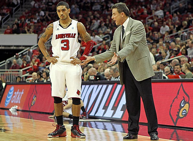 Though Louisville returns seven players from last season, Peyton Siva is Pitino's only star. (AP)