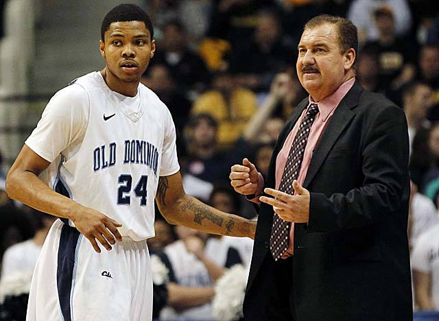With help from senior Kent Bazemore (left), Blaine Taylor has a solid team at Old Dominion. (US Presswire)