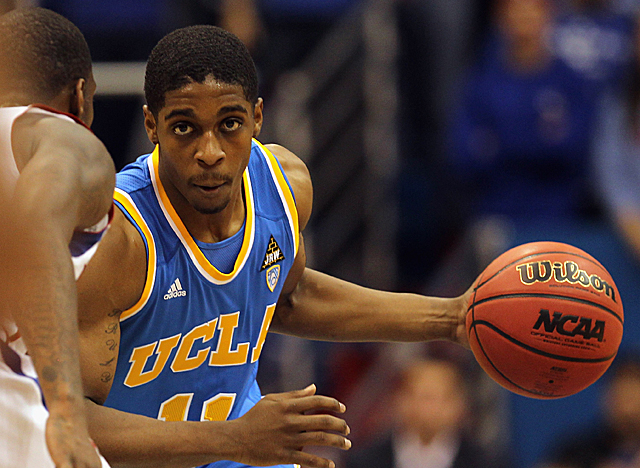 UCLA's Lazeric Jones needs to match the frontcourt's production if the Bruins are to go far. (Getty Images)