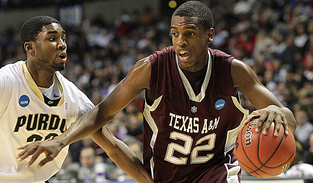 A&M's Khris Middleton is not a household name but folks in the Big 12 notice his game. (Getty Images)