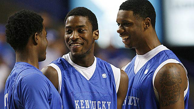 Doron Lamb, Michael Kidd-Gilchrist and Terrence Jones give UK a team that can match UNC. (US Presswire)