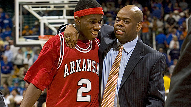 Glynn Cyprien (right) takes over for Billy Kennedy at No. 20 Texas A&M on an interim basis. (US Presswire)