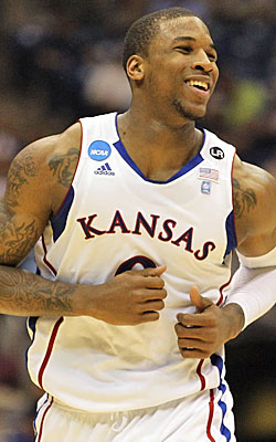 Thomas Robinson will carry the load for Kansas, which isn't as loaded as usual. (Getty Images)