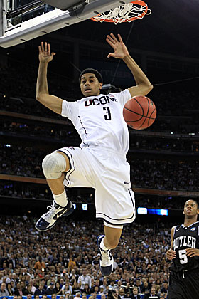Jeremy Lamb and UConn will be in Atlantis for the holiday. (Getty Images)