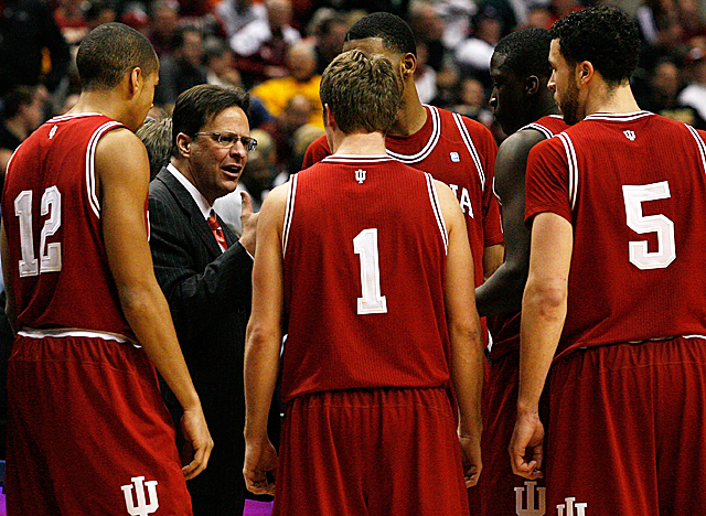 Coach Tom Crean is putting together a top-5 group, hoping to return the Hoosiers to glory. (Getty Images)