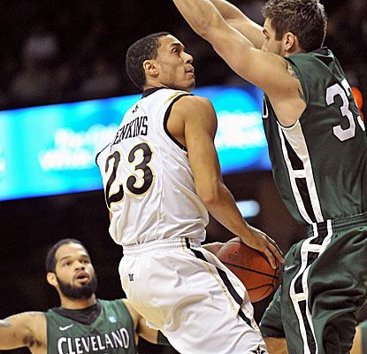 John Jenkins leads Vanderbilt with 17 points, but it's not enough vs. Cleveland State. (US Presswire)
