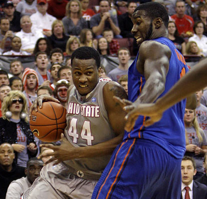 William Buford provides a boost for the Buckeyes as he finishes with 21 points along with six rebounds. (AP)