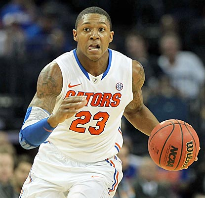 Florida freshman Bradley Beal scores a career-high 22 points as Florida holds off pesky Wright St. (US Presswire)