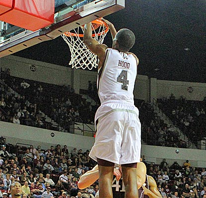Mississippi State freshman Rodney Hood scores inside and out en route to a career-high 20 points. (US Presswire)
