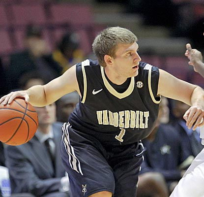 Brad Tinsley nails a game-winner to send  No. 18 Vandy to Legends Classic championship. (US Presswire)