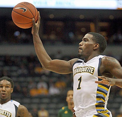 Darius Johnson-Odom leads the Golden Eagles with 20 points against Norfolk State in the Paradise Jam championship game. (US Presswire)
