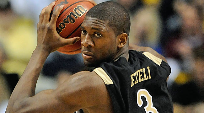 The Commodores know just how great things will be when Ezeli returns. 'It'll be a lot different.' (US Presswire)