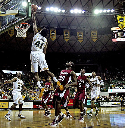 Anthony Jones scores a career-high 21 points to help the Baylor Bears defeat the South Carolina State Bulldogs. (US Presswire)