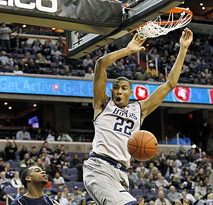 Otto Porter and the No. 18 Hoyas get out to a 17-0 lead, then hold on late to beat Howard. (AP)