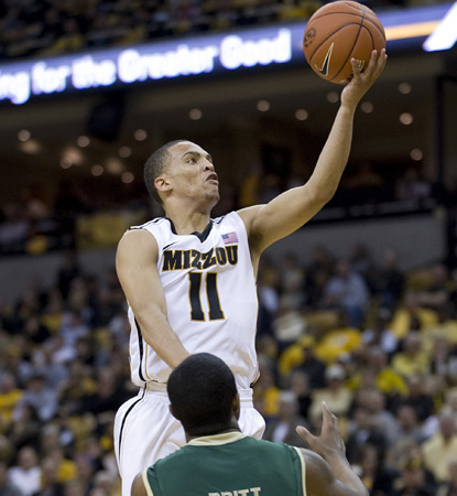 Michael Dixon goes off for two of his career-high 30 points to help wax William & Mary. (AP)