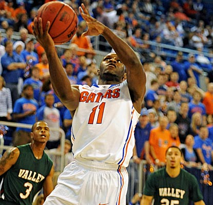 Erving Walker leads Florida with 19 points as the Gators cruise past Mississippi Valley State. (AP)