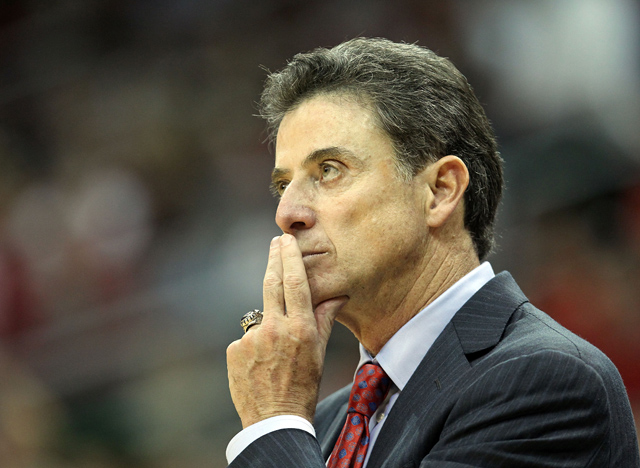 This is only the second time in Pitino's decorated career that he's guided a team to an 11-0 start. (Getty Images)