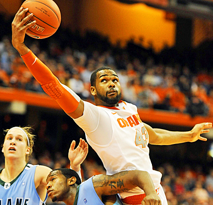 James Southerland shines off the bench, scoring ten points and five rebounds against Tulane. (US Presswire)