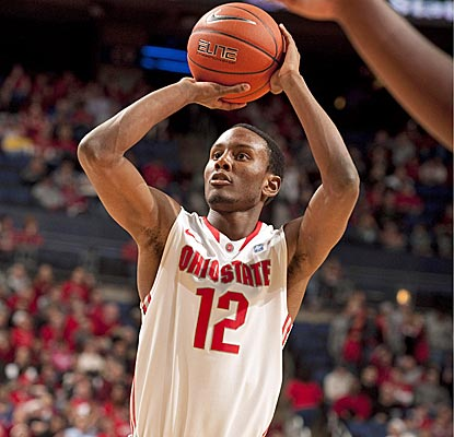 Sam Thompson and the No. 2 Buckeyes have now won 33 straight games at home.  (US Presswire)