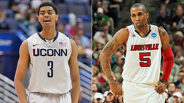 UConn gets plenty from Lamb but Louisville needs Smith to be consistent. (Getty/US Presswire)
