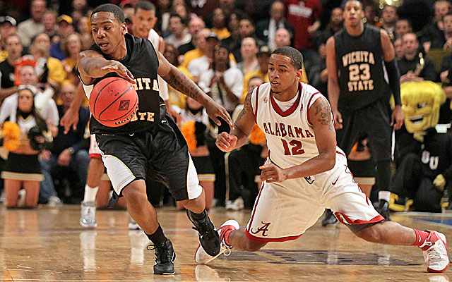 Joe Ragland (left) is on our All-MVC team but may not be the Most Valuable Shocker. (Getty Images)
