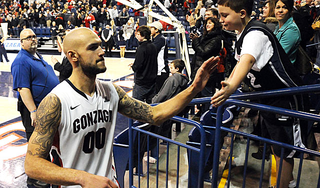 The Zags need Robert Sacre to step up his game to match its potential. (Getty Images)