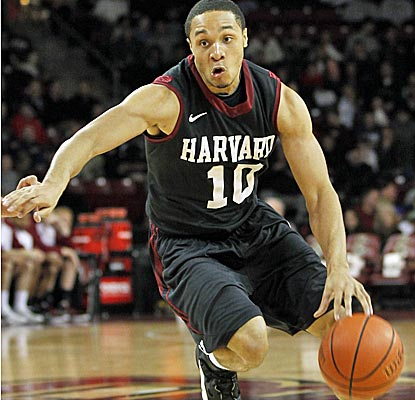 Harvard guard Brandyn Curry scores 11 points to go with five assists and five steals. (US Presswire)