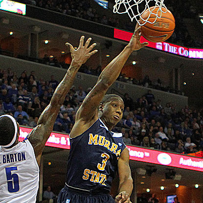Isaiah Canaan scores 16 points to pass the 1,000 mark for Murray State in its win against Eastern Kentucky. (US Presswire)
