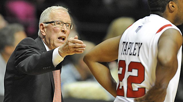 Despite losing four stars from last season, Steve Fisher should have SDSU back in the tourney. (Getty Images)