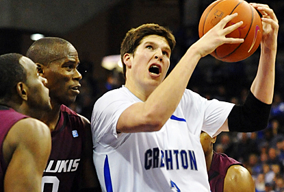 Doug McDermott muscles through Southern Illinois for 25 points and 11 rebounds in the win. (AP)