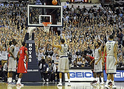 Otto Porter scores Georgetown's final six points, including these two game-winning free throws with 8.5 seconds to go. (US Presswire)